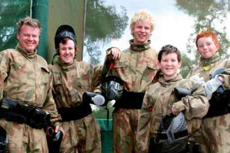 Paintball Networks - Party for Up to 10 Kids with 100 Paint Balls Each and Light Lunch - Save 84%