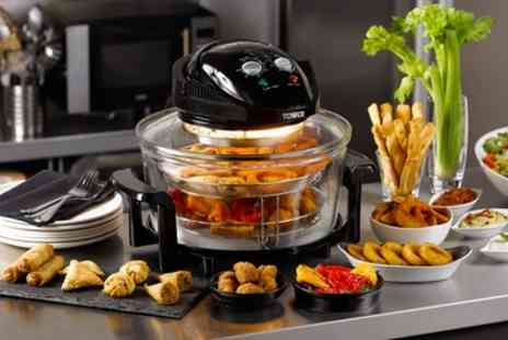 Groupon Goods Global GmbH - Tower 1300W 17L Halogen Low Fat Air Fryer - Save 65%