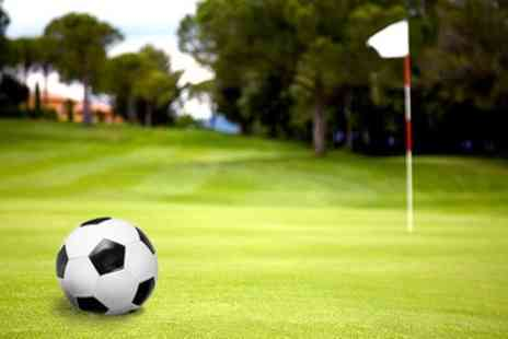 The Footgolf Academy - Nine Holes of Footgolf for Four Under 16s or Four Adults - Save 38%