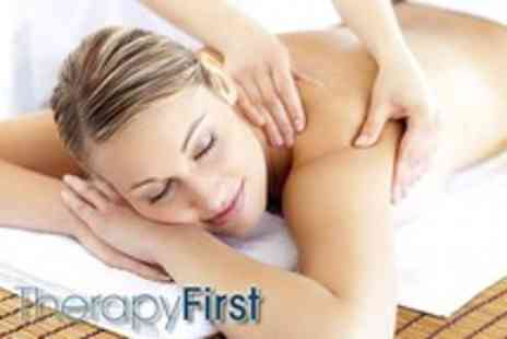 Therapy First - 1 hour relaxation or sports massage - Save 62%