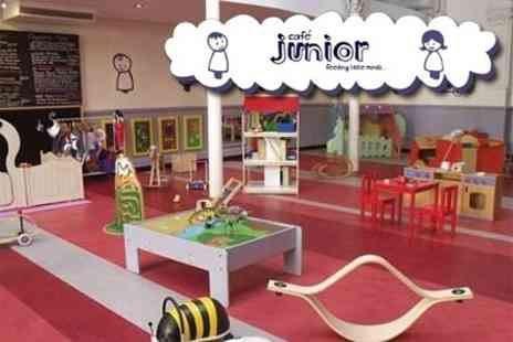 Cafe Junior - Ten Adult and Child Passes to the Junior Play Centre and Cafe - Save 73%