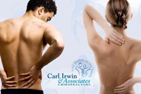 Carl Irwin & Associates Chiropractic - Five Chiropractic Sessions - Save 79%
