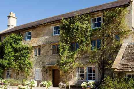 Guyers House Hotel - Lunch for 2 in AA Rosette Wiltshire country house - Save 38%