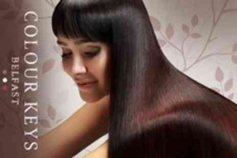 Colour Keys - Brazilian Blow Dry With Cut and Finish - Save 66%