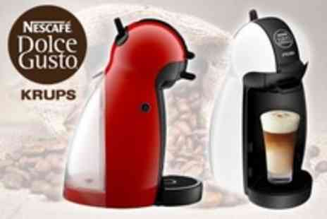 James Russell - Nescafe Dolce Gusto Piccolo Coffee Maker by Krups - Save 44%