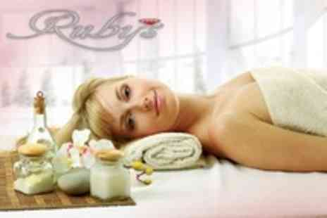 Rubys Salons - One Hour Massage and Facial - Save 61%