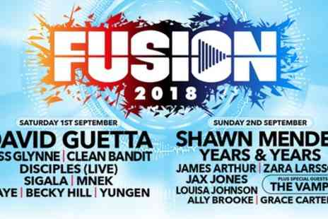 Fusion Festival 2018 - One general admission day ticket to Fusion Festival on 1 To 2 September - Save 36%