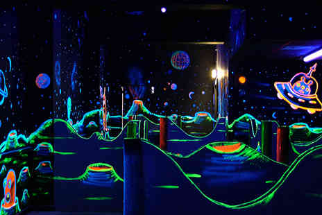 Quasar Sheffield - Two games of quasar for four people - Save 50%