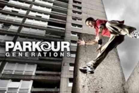 Parkour Generations - Three Parkour Outdoors Classes - Save 53%