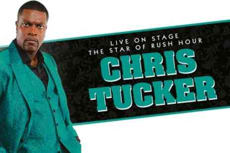 Chris Tucker - One seated ticket to see Chris Tucker on 27 September at Birmingham, 28 September at Manchester or 29 September at Glasgow - Save 55%