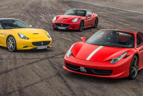 Buyagift - Triple supercar driving thrill with a high speed passenger ride - Save 0%