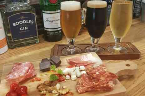 4Degrees Bar and Restaurant - Craft Beer Tasting with Sharing Platter to Share Between Pairs for Two or Four - Save 40%