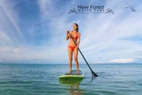 New Forest Water Park - Paddleboarding With Tuition For One - Save 60%