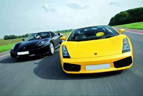 Buyagift - Ferrari and Lamborghini driving blast - Save 0%