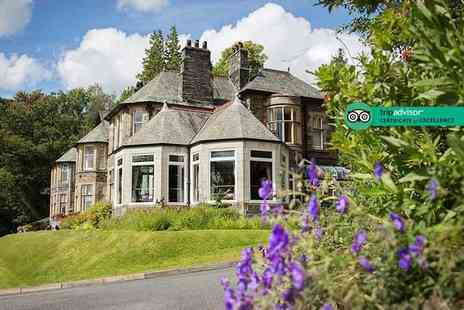 Merewood Country House Hotel - One or two night stay for two people with breakfast and cream tea on arrival - Save 34%