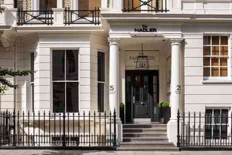 The Nadler Kensington - Four Star Townhouse Stay For Two in the Royal Borough - Save 73%