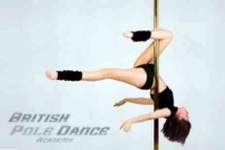 British Pole Dance Academy - Six Week Beginners Pole Dancing Course - Save 66%