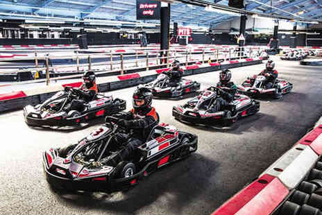 Buyagift - Indoor go karting experience for two people at a choice of 19 locations - Save 0%