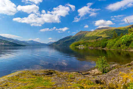 Lomond Park Hotel - One or two night Loch Lomond break for two with dinner and a cocktail jug - Save 0%