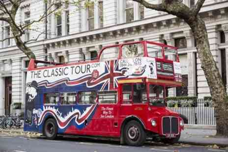 Classic Tours - The Classic London Bus Tour Ticket for Child, Adult or Family - Save 34%