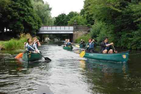 Epic Ventures - Half Day Canoeing Along Thew Union Canal for One, Two or Four - Save 40%