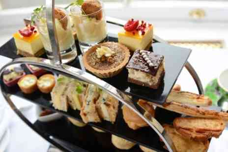 The Royal Victoria Hotel - Traditional Afternoon Tea with Optional Glass of Bubbly for Two or Four - Save 42%