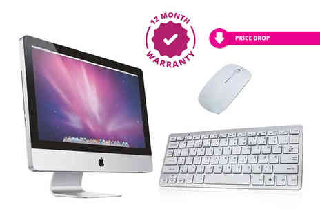 IT Trade Services - Refurbished 20 Inch Apple iMac Intel Core Two Duo 4Gb Ram 250Gb Hdd desktop - Save 74%
