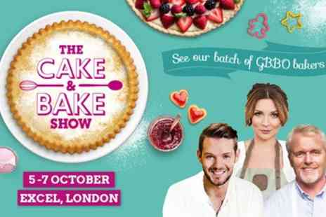 The Cake & Bake Show - The Cake and Bake Show on 5 to 7 October - Save 46%
