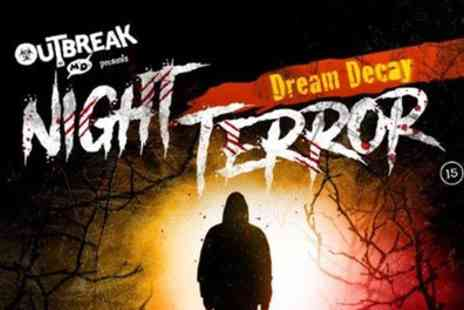 M&Ds Theme Park - One or two tickets to Night Terror Dream Decay on 28 September To 21 October - Save 45%