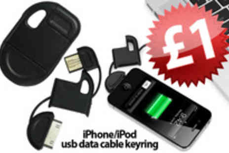 Smartass Marketing - An iPhone/iPod USB charging keyring - Save 97%