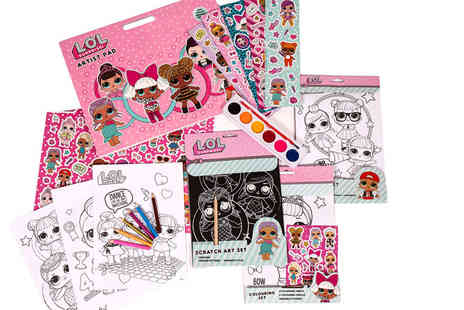 Dream Price Direct - An L.O.L Surprise arts and crafts set - Save 67%