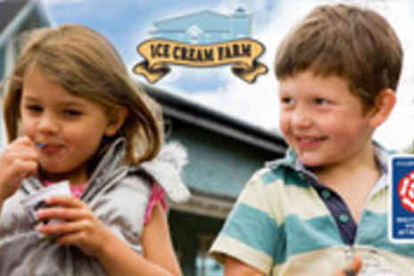 Cheshire Farm Ice Cream - Ice cream, access to Crazy Daisys Playbarn and a round of mini golf - Save 68%