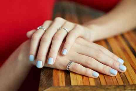 Hubun Brow & Nail - Shellac Manicure, Pedicure or Both - Save 50%