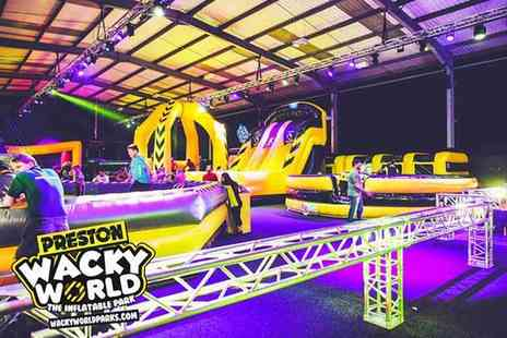 Wacky World - Hour long bounce session for two or four people - Save 55%