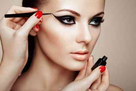 International Make Up Academy - Three hour makeup masterclass using MAC products with a glass of Prosecco - Save 83%