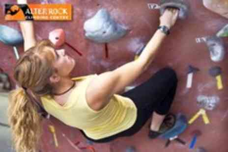 Alter Rock Climbing - 3 Hour climbing course and a 2nd climbing session - Save 58%