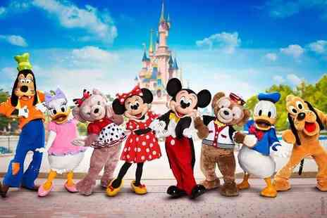 Super Escapes Travel - Two night Disneyland Paris getaway with return flights - save up to 28% - Save 28%