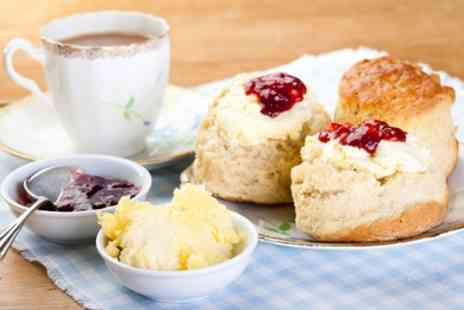 The Old Station Cafe - Cream Tea for Two or Four - Save 39%