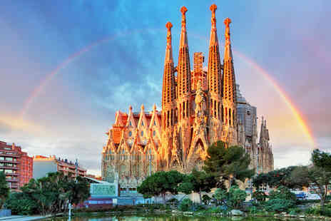 Crystal Travel - Two or three night Barcelona getaway with return flights - Save 32%