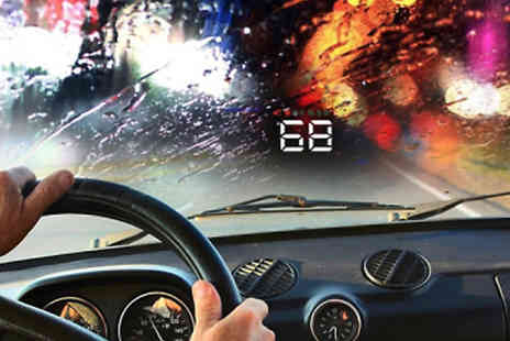 Best mall ever - GPS Car Heads Up Windscreen Projector - Save 75%