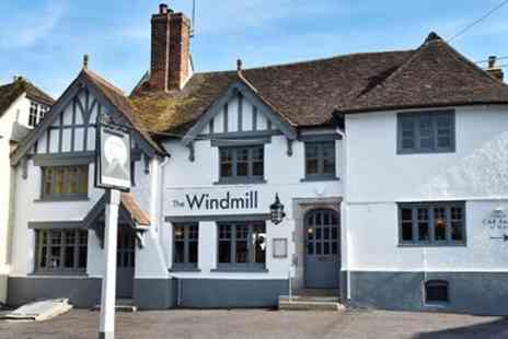 The Windmill - Meal for 2 at celebrity chef gastropub near Maidstone - Save 41%