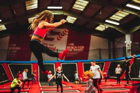 We are Vertigo - One Hour Trampoline Park Entry for One, Two or Four People - Save 38%