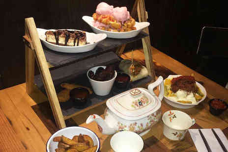 Beyond Bar - New York themed afternoon tea for two people with a teapot cocktail - Save 63%