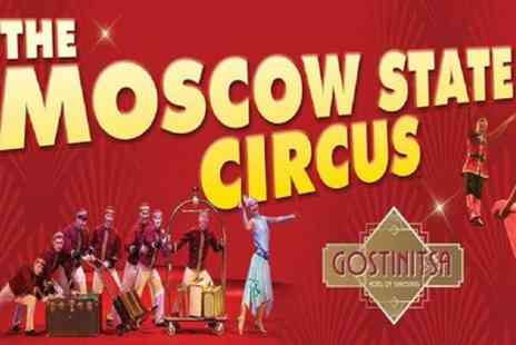 Moscow State Circus - One grandstand ticket to Moscow State Circus on 6 To 28 October - Save 50%
