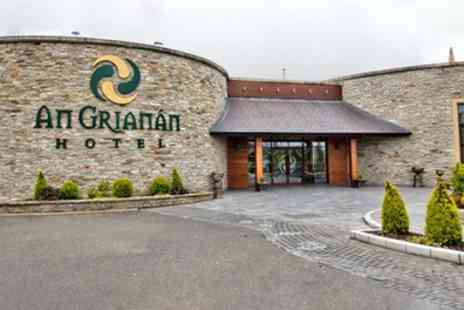 An Grianan Hotel - One or Two Nights Stay for Two with Breakfast and Old Church Visitors Centre Entry - Save 37%