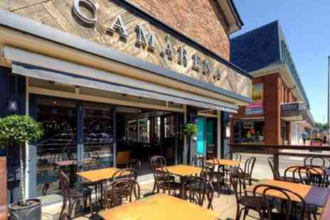 Camarena Wilmslow - Four or Eight Brunch Plates with Hot Drink for Two or Four - Save 49%