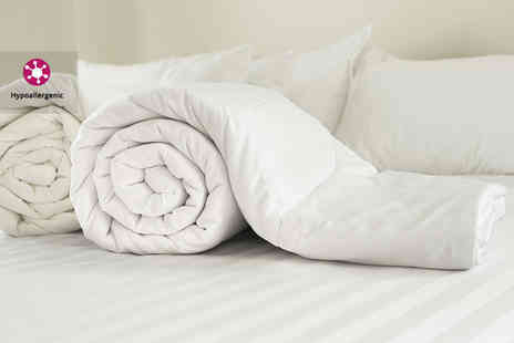 E Home Store - Single anti allergenic 12 tog microfiber duvet - Save 47%