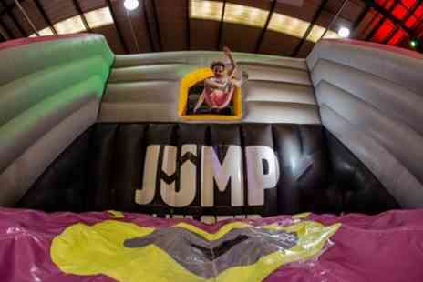 Jump Incflated - One Hour Inflatable Session for Up to Four - Save 26%