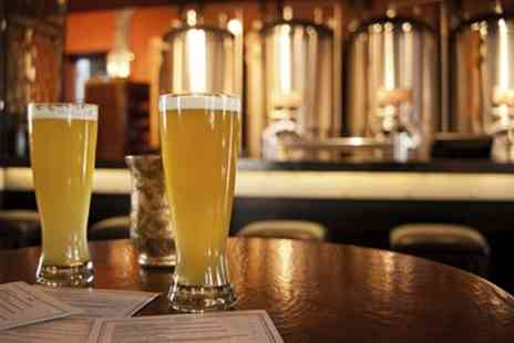 Brentwood Brewing - Brewery Tour, Two Beer Tastings and a Four Pint Jug for Up to Four - Save 36%