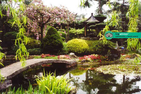 Pure Land Meditation Centre - Entry for two adults or family entry for two adults and two to Pure Land Japanese Garden - Save 57%